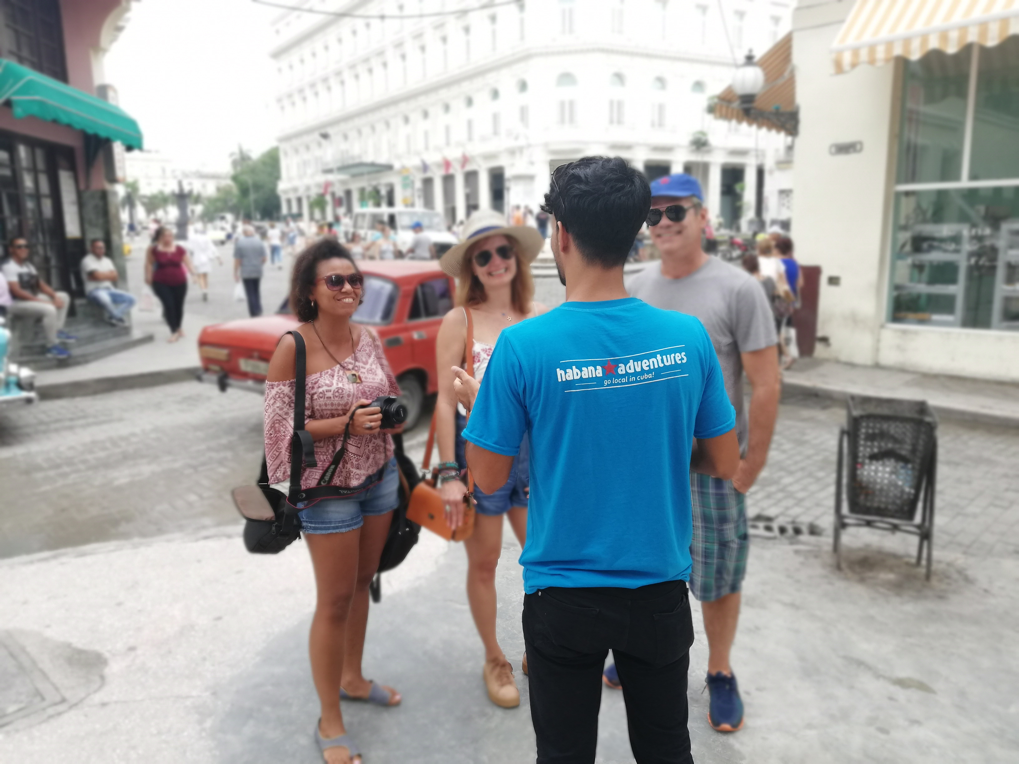 Havana Adventures guides are entertaining and personable
