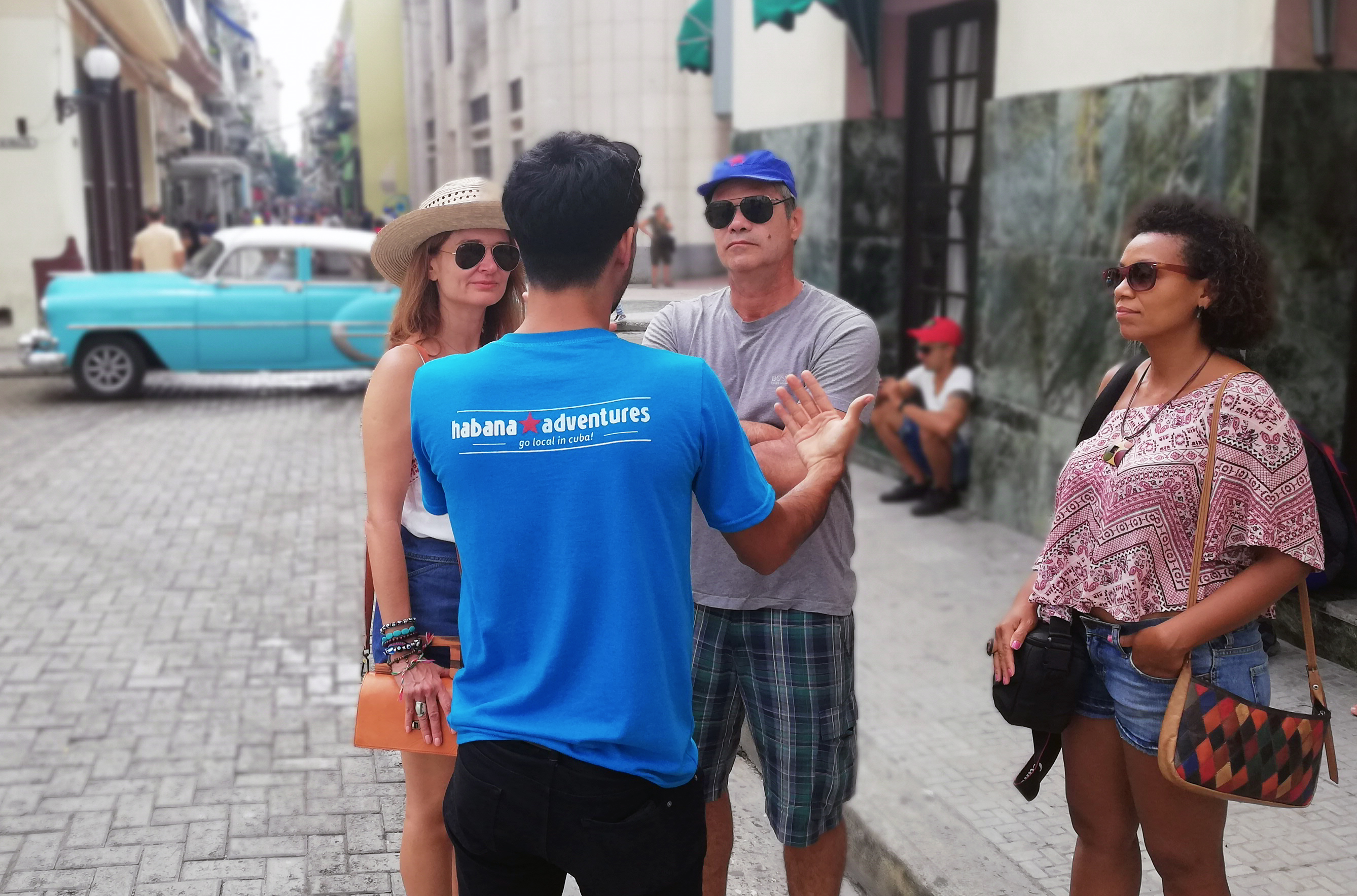 Our guides are open and honest about life is like in Cuba