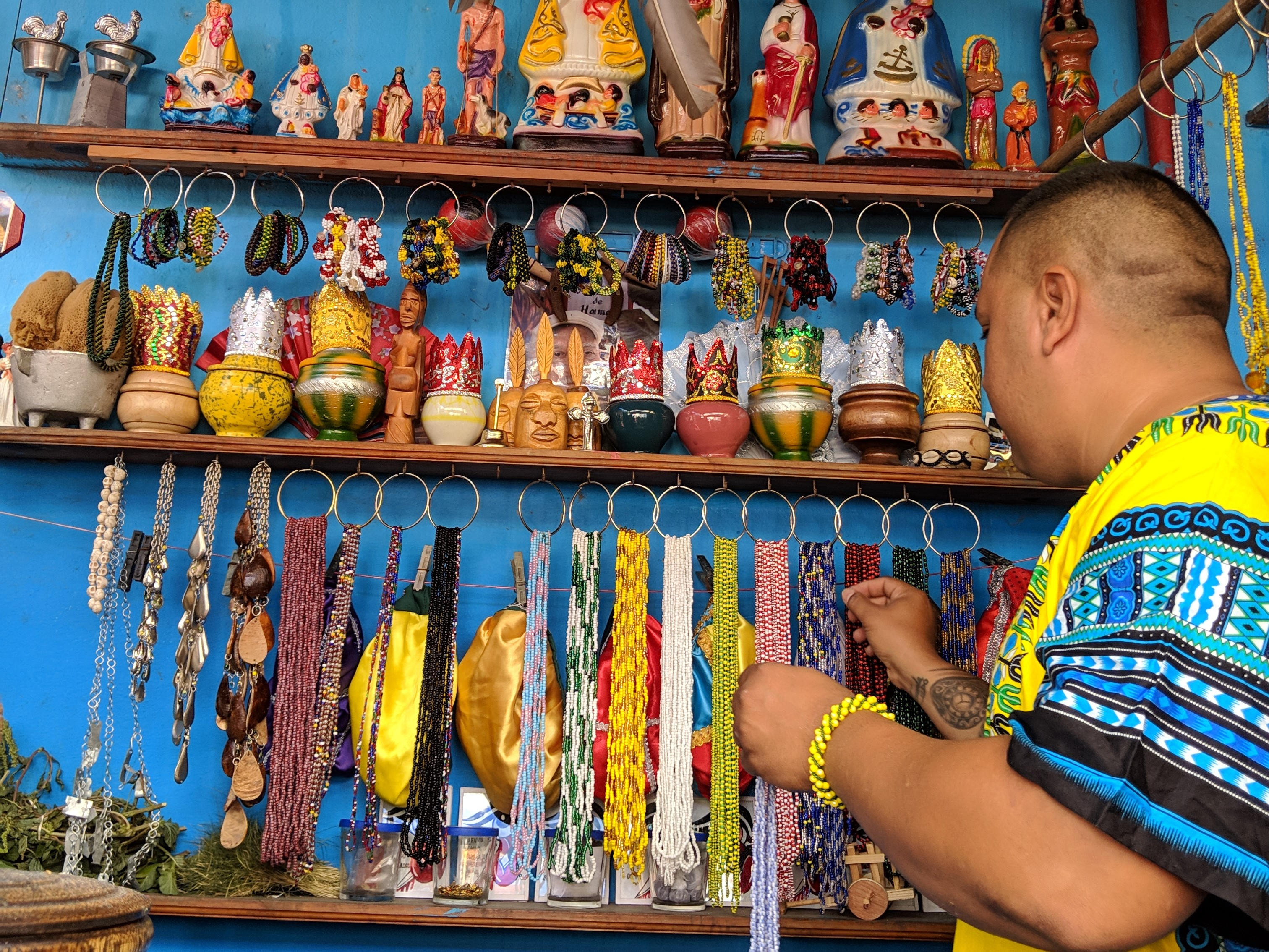 The colorful Callejon de Hamel in Centro Habana