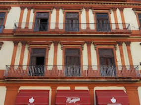 The front of the Havana cigar factory